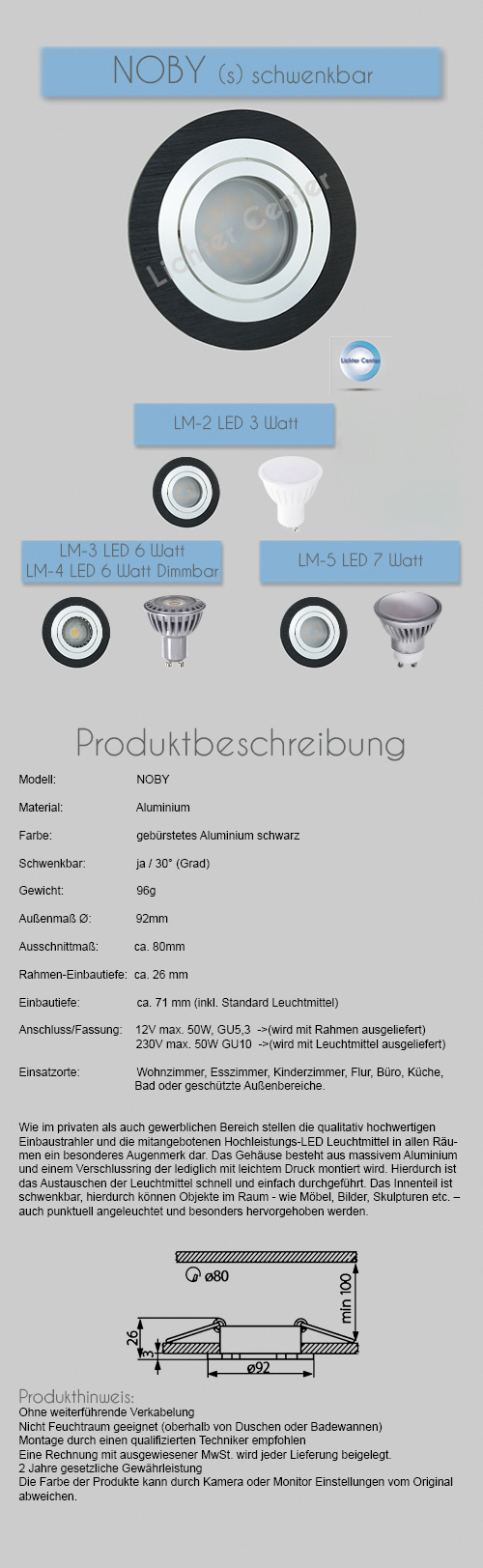 led deckenspots einbaustrahler einbauspots deckenstrahler einbaulampe gu10 230v. Black Bedroom Furniture Sets. Home Design Ideas